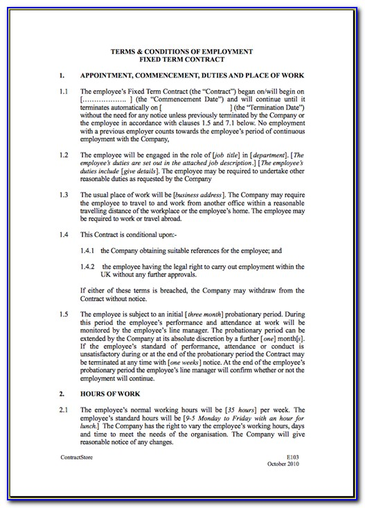 Electrical Contract Terms And Conditions Template Vincegray2014
