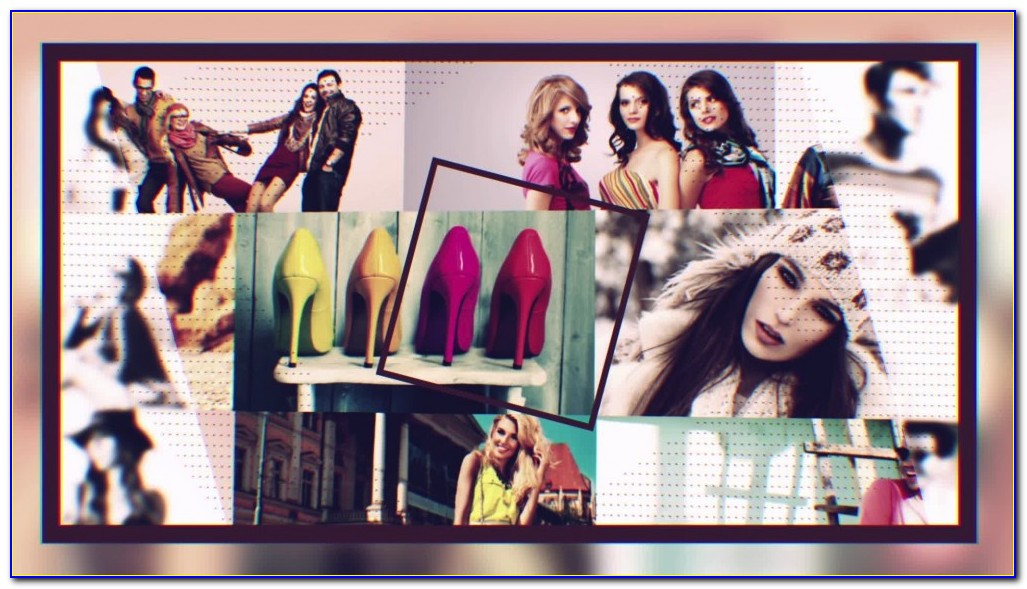 Elegant Photo Montage After Effects Template Free Download