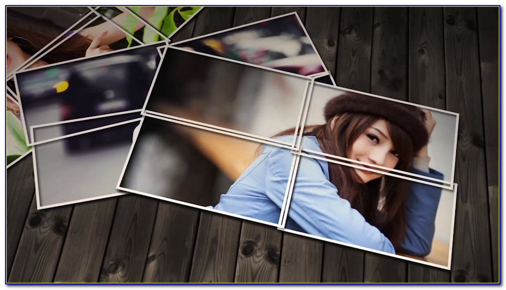 Elegant Photo Montage After Effects Template