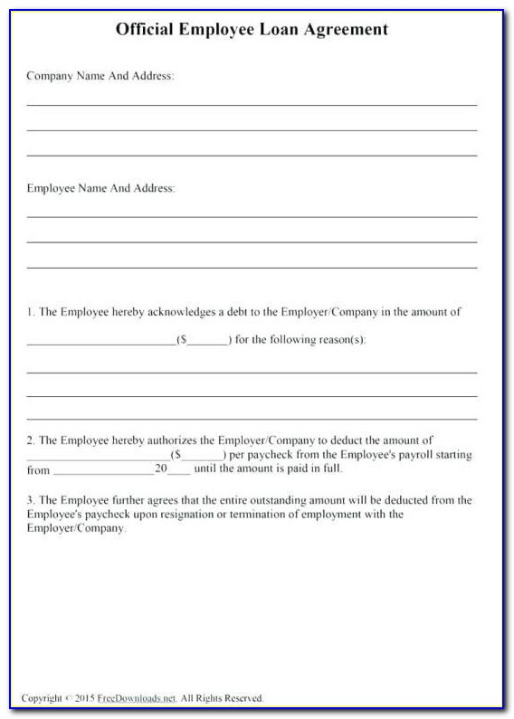 Employment Contract Template Canada