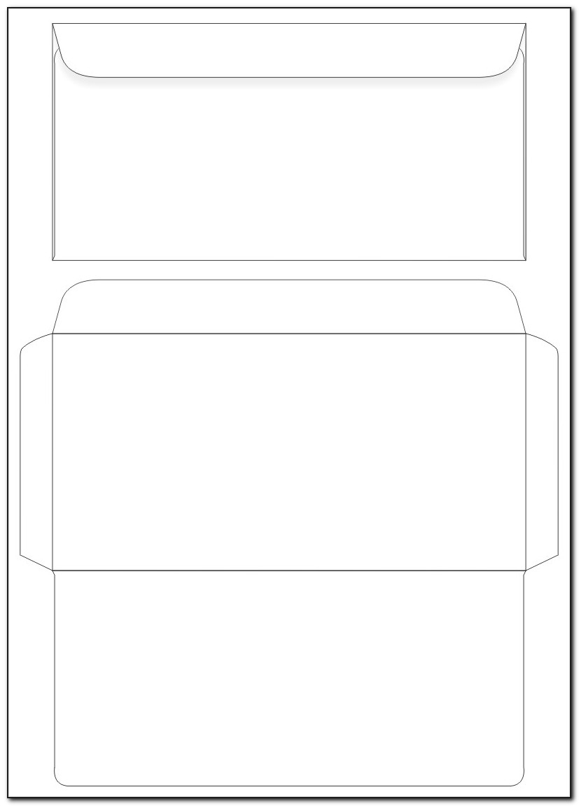 Envelope Printable Templates