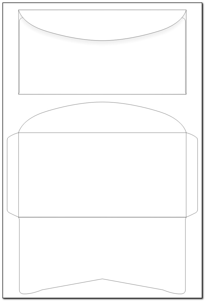 Envelope Printing Templates For Word