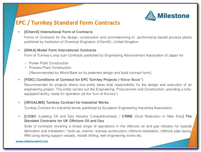 Epcm Contract Definition