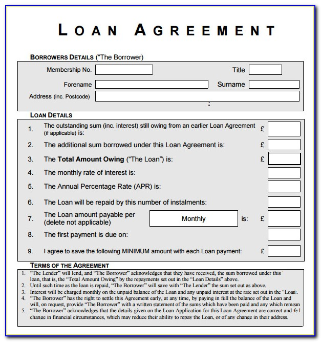 Equipment Loan Agreement Template Free Vincegray2014