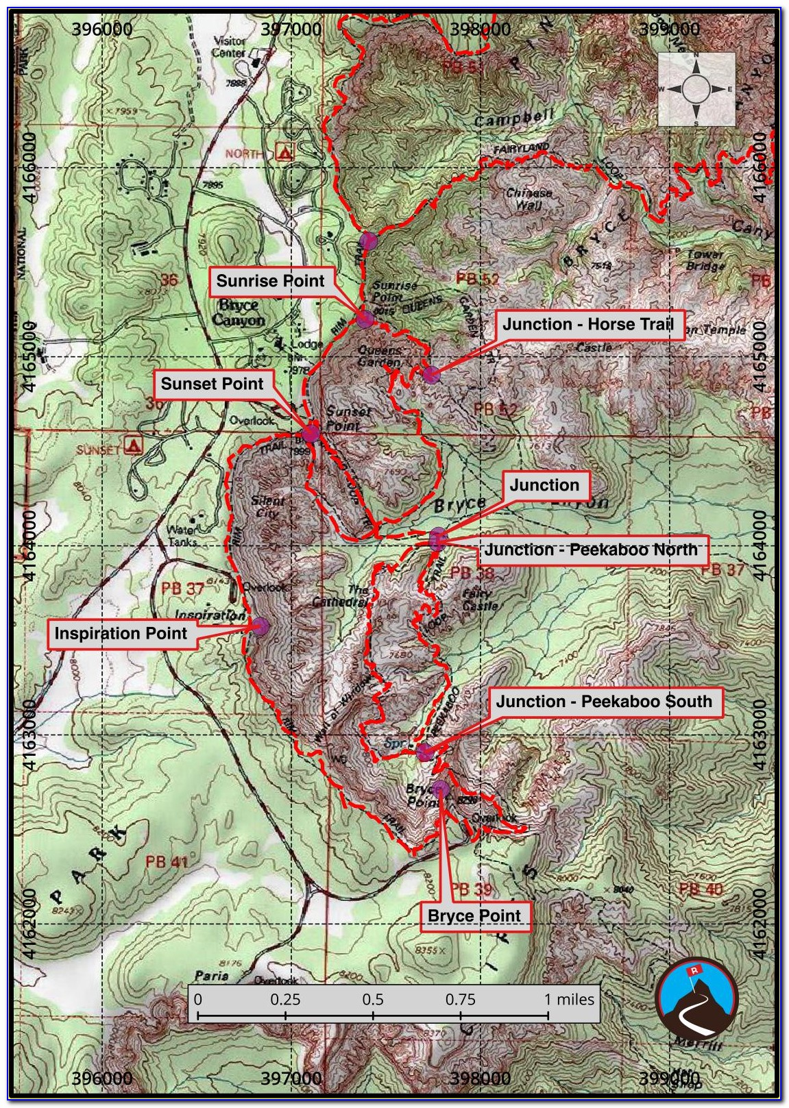 Escalante Utah Hiking Maps