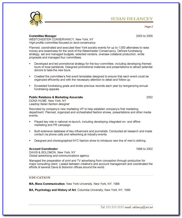Event Planner | Free Resume Samples | Blue Sky Resumes With Regard To Event Coordinator Resume Sample