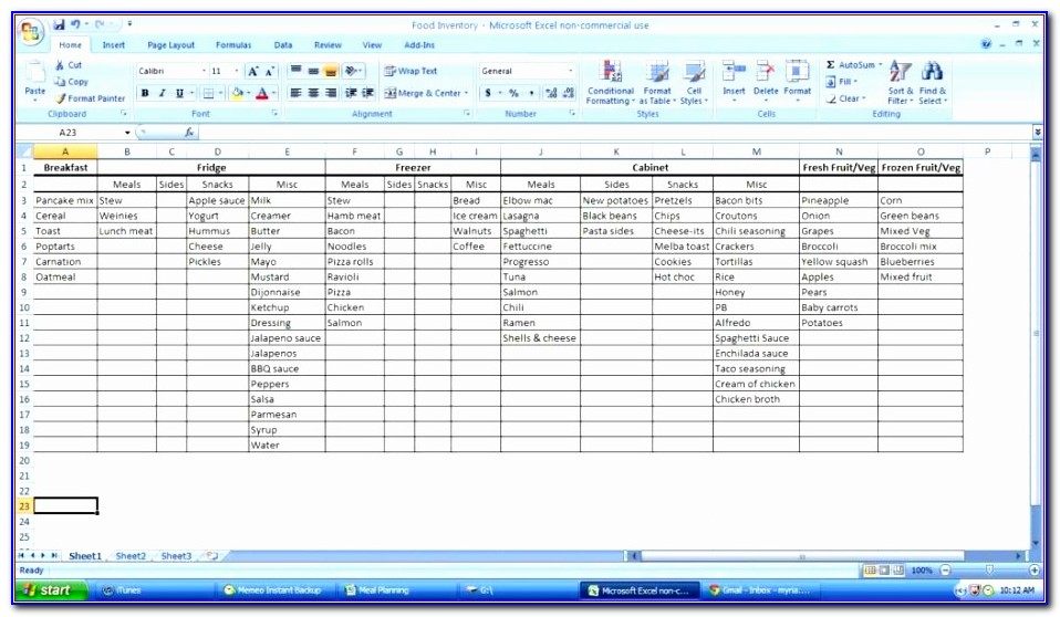 Excel Vba Inventory Management Template