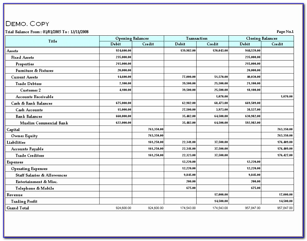 Trial Balance Excel Template Ifigf Fresh Index Of Images As Prog Sshots Mlevel Rep