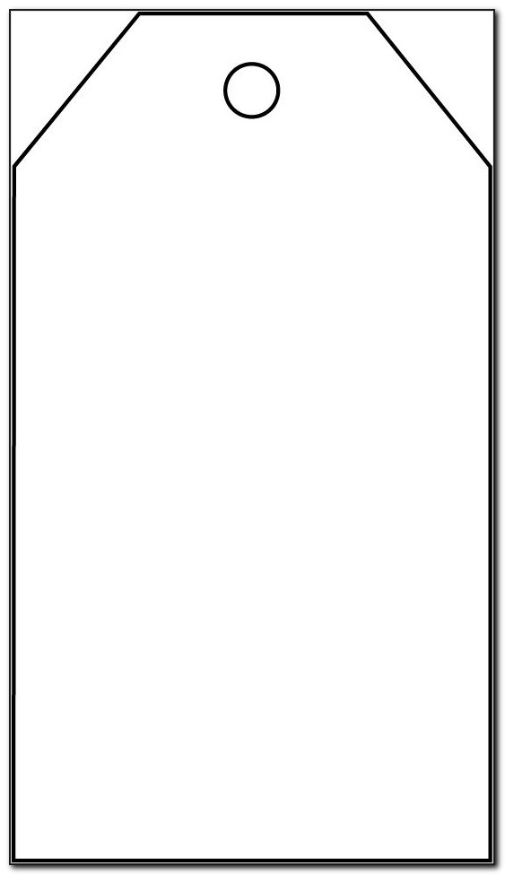 Extra Large Gift Tag Template
