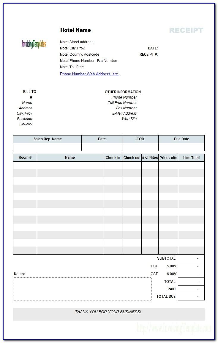 Fake Invoices Templates
