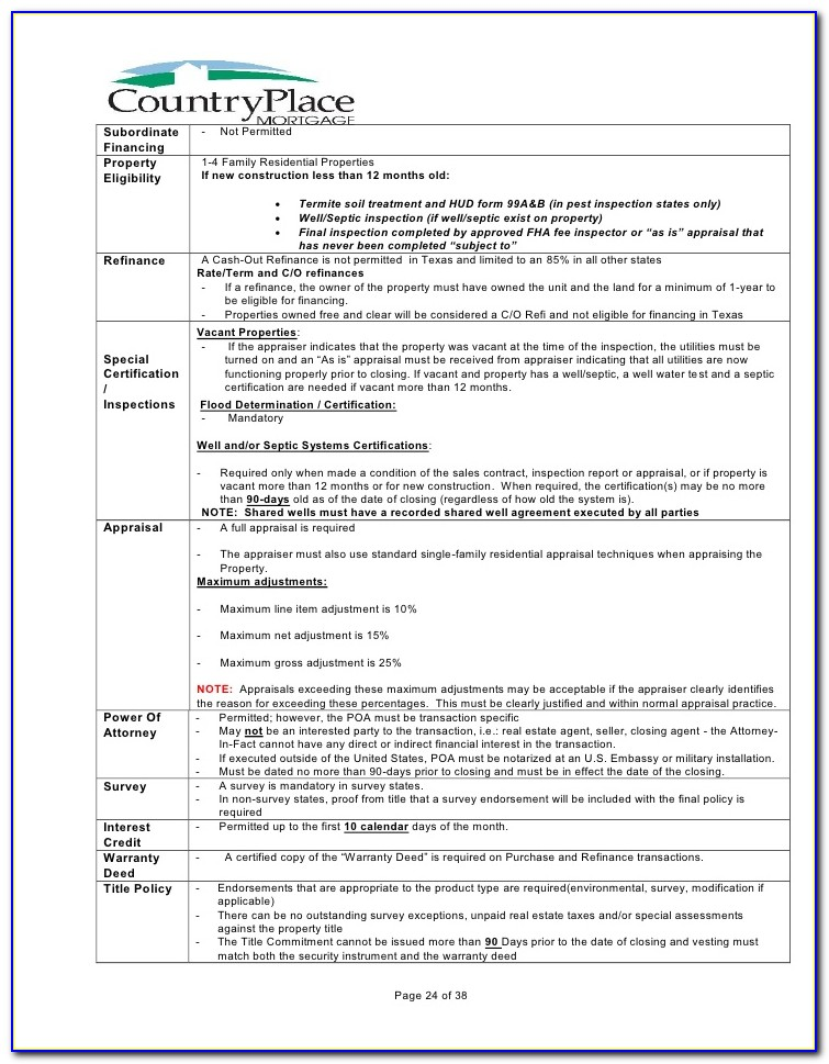 Fha Termite Inspection Form Pdf