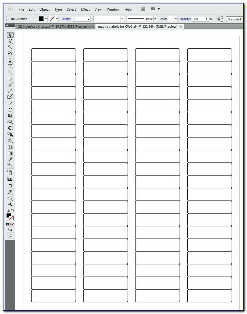 File Cabinet Label Inserts Template