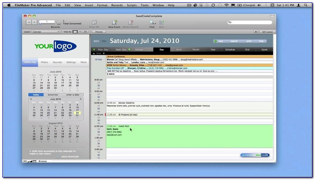 Filemaker Pro Templates Download