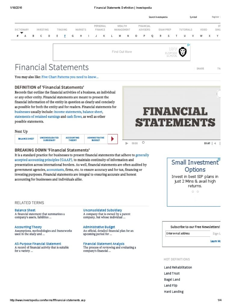 Financial Statement Template Xls Philippines