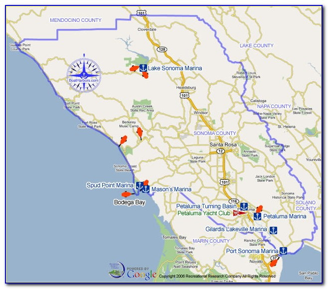 Fire Map Sonoma County Cal Fire