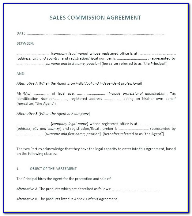 Fiscal Agent Agreement Template