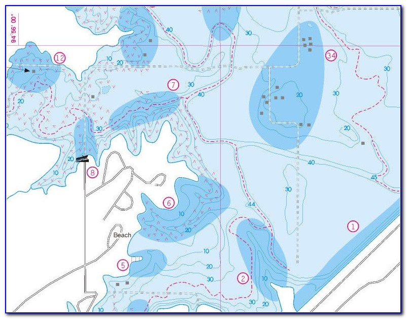 Fishing Hot Spots Maps Lake Of The Woods