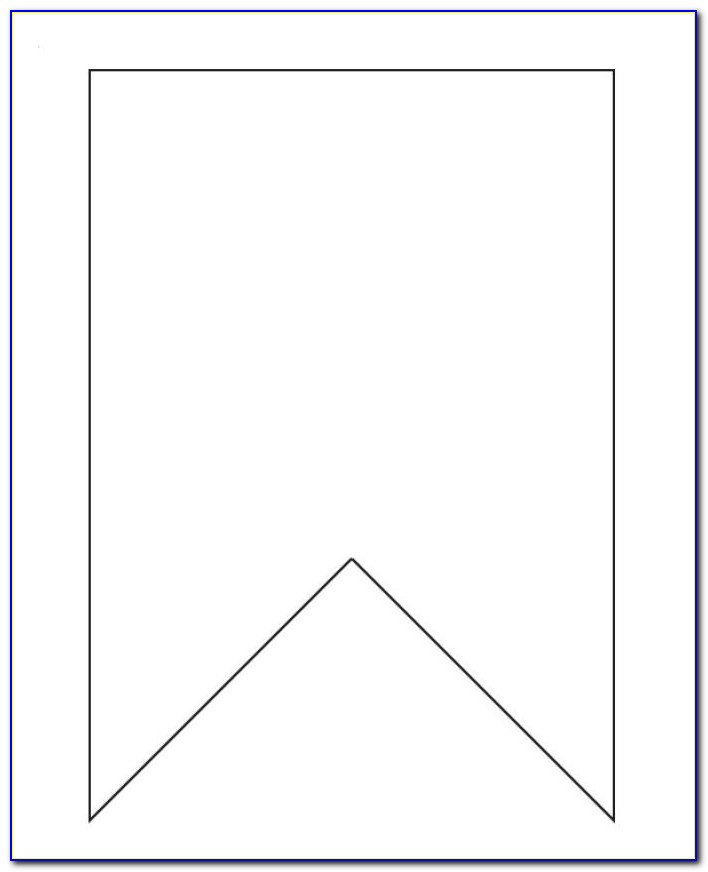 Flag Banners Template