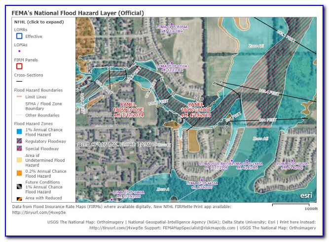 Flood Insurance Rate Map Indiana
