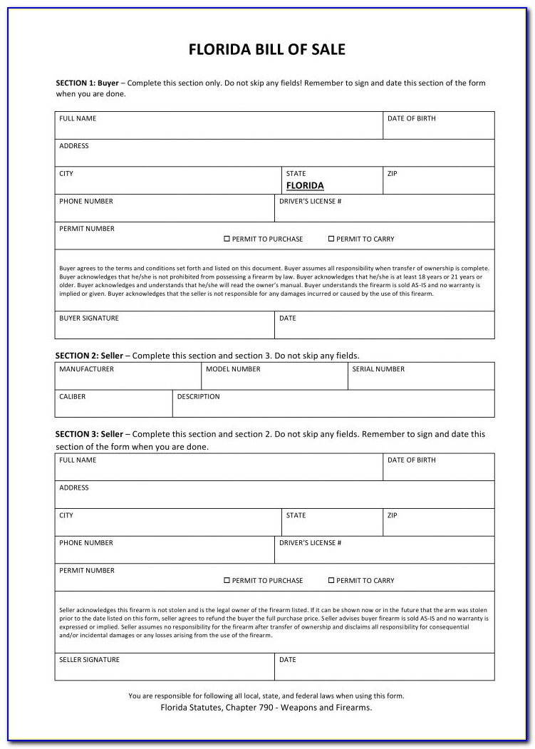 Florida Concealed Carry Permit Renewal Form