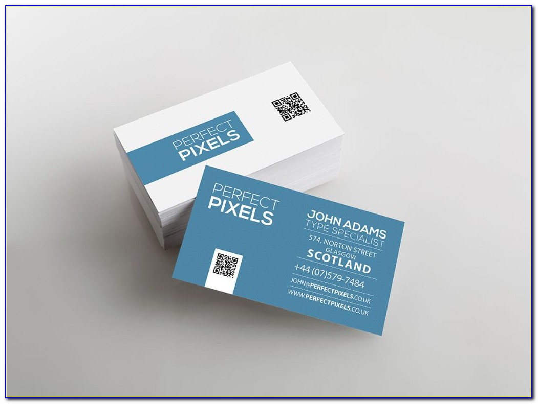 Foldable Business Cards Template