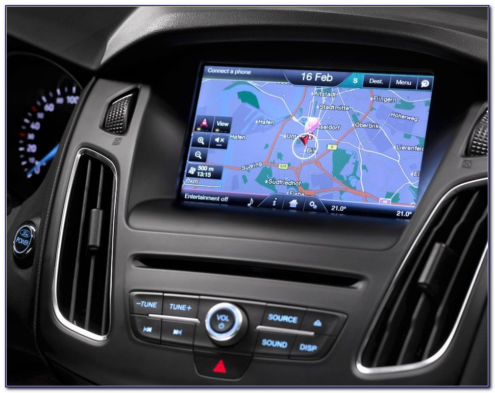 Ford Sync 3 Navigation Map Upgrade