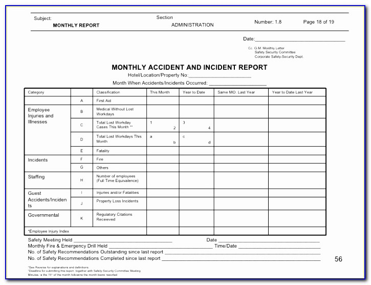 Safety Report Sample Forklift Operator Daily Checklist Book Sample Hazard Report Form Template Best Of Pdf Word Excel Templates Yuyiw
