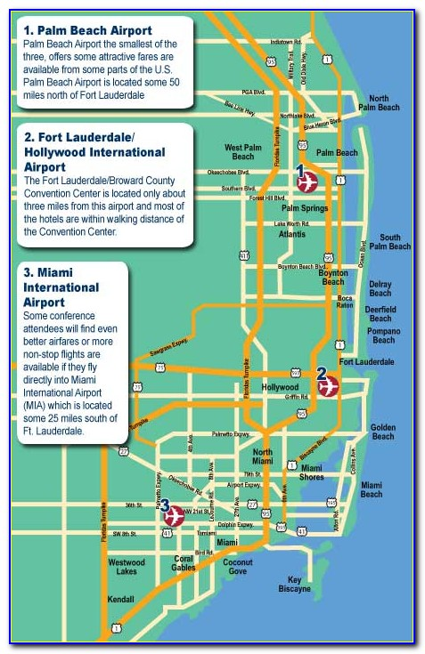 Fort Lauderdale Cruise Port Hotel Map