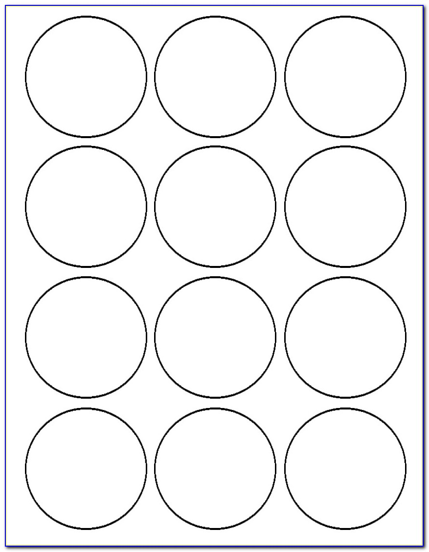Free 2 Inch Circle Label Template
