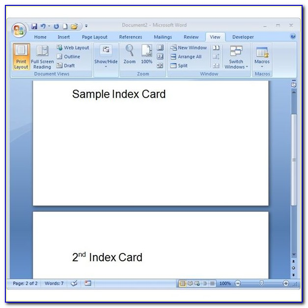 Free 4×6 Greeting Card Template