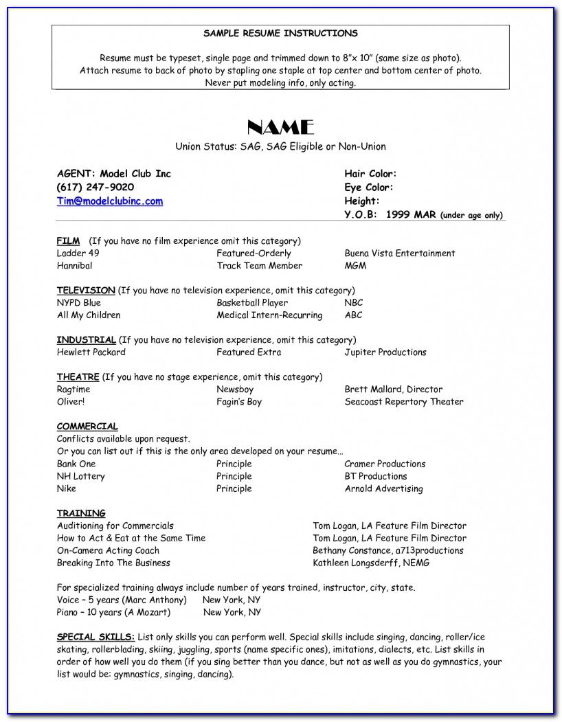 Pinjobresume On Resume Career Termplate Free | Pinterest Free Acting Resume Builder