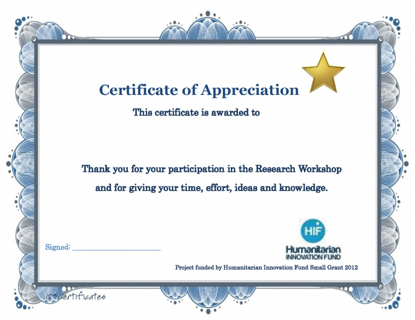 Free Appreciation Certificate Templates For Word