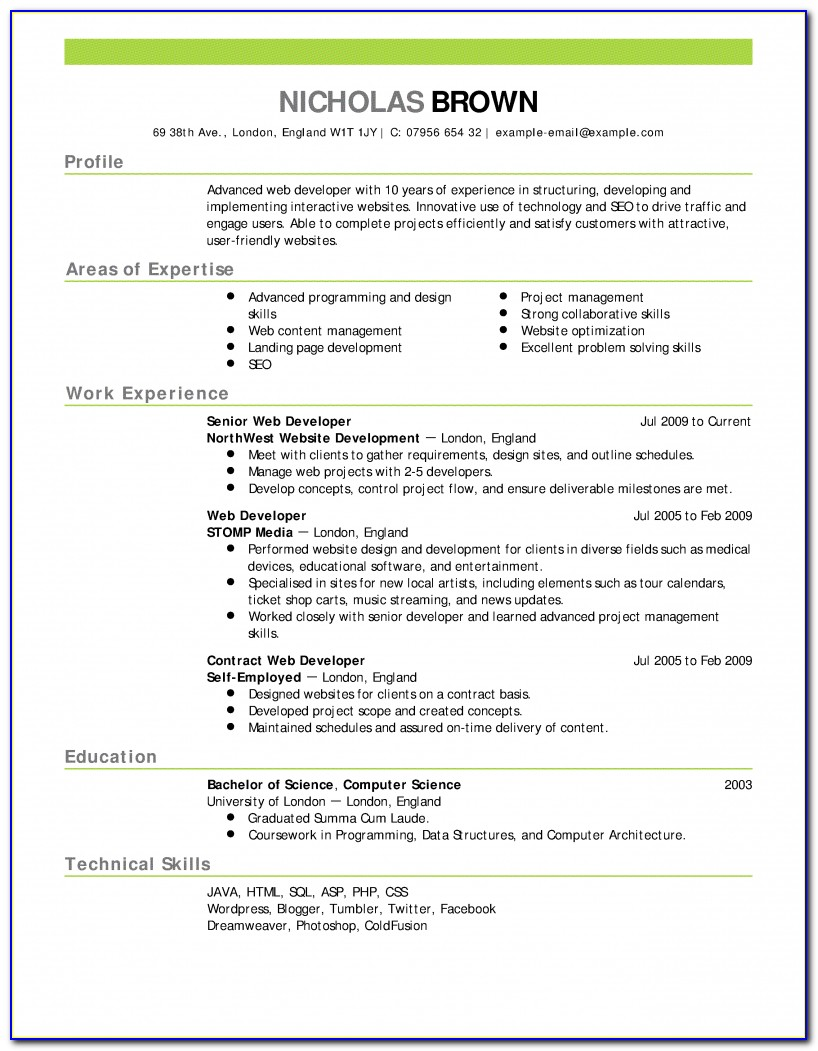 Write A Resume Free Zrom.tk Ats Resume Template Free Download