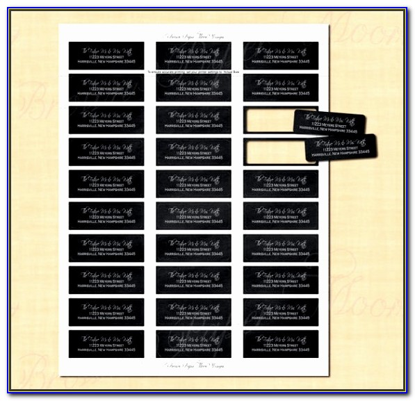 Address Label Templates For Word Vincegray2014