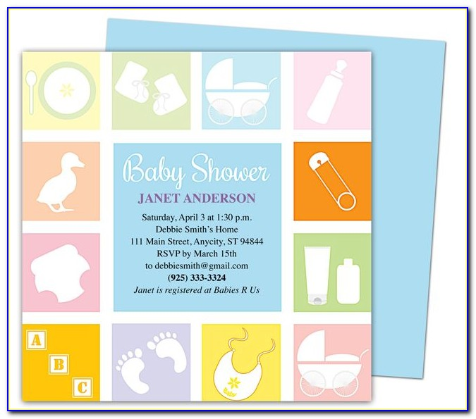 Free Baby Shower Invitation Templates Pinterest