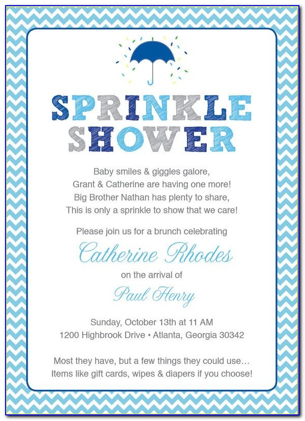 Free Baby Sprinkle Invitations Templates Pdf