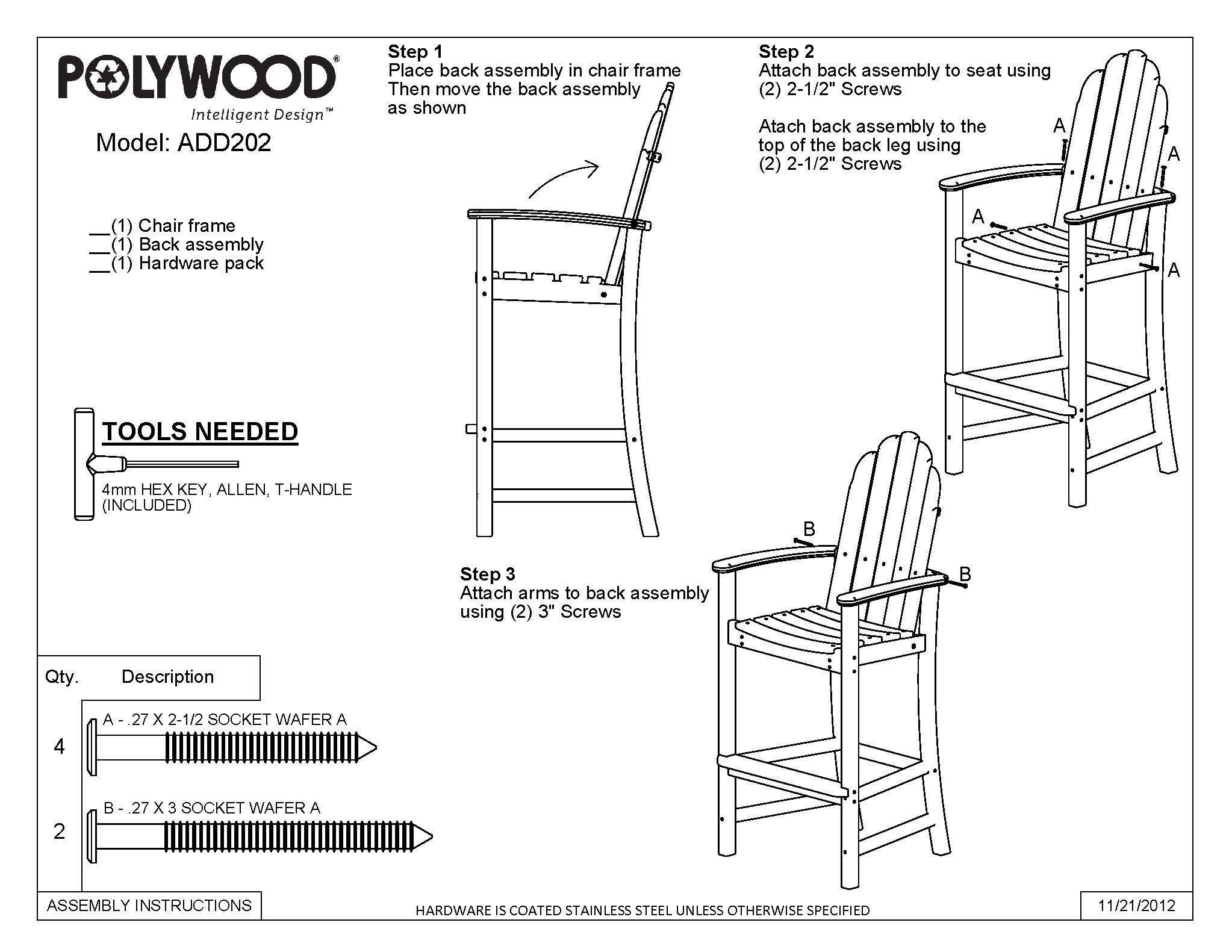 Free Bar Height Adirondack Chair Plans Templates