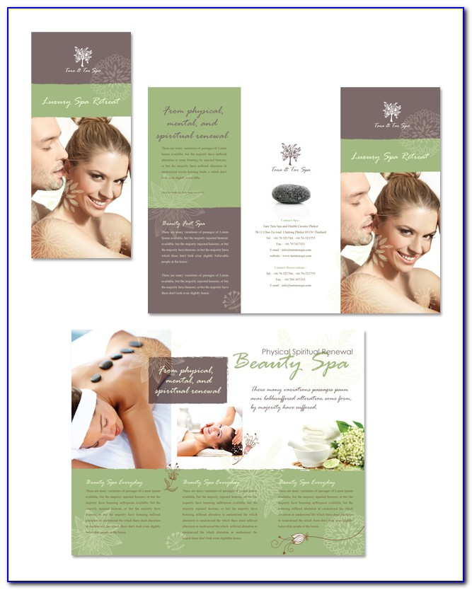 Free Beauty Salon Brochure Templates
