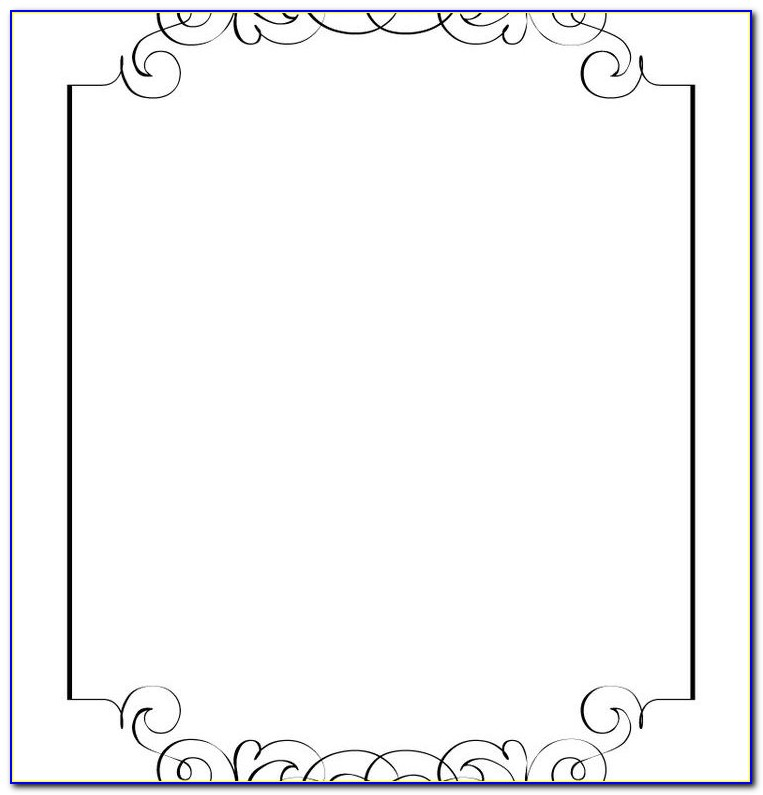 Free Blank Wedding Invitation Templates For Microsoft Word