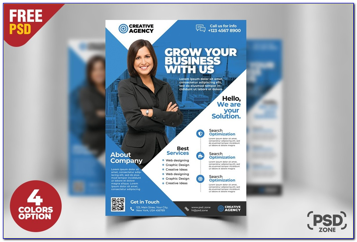 Free Business Flyer Templates For Word