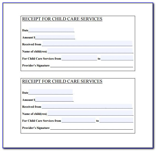 Free Childcare Templates