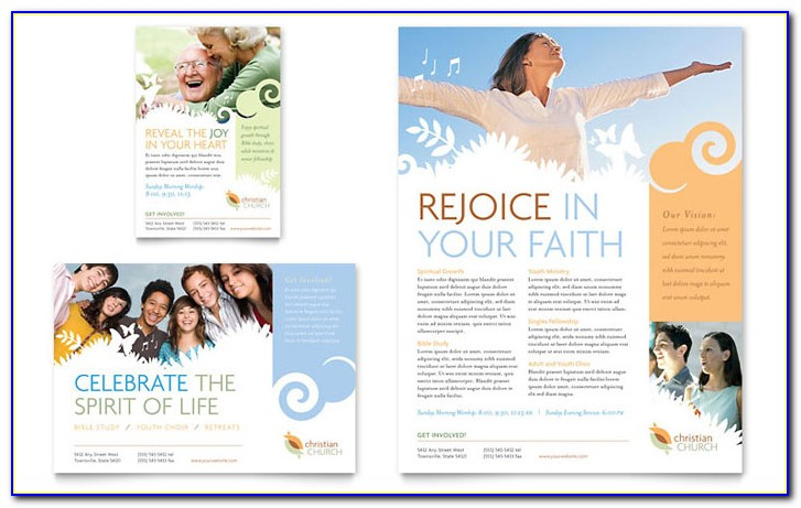 Free Christian Event Flyer Templates