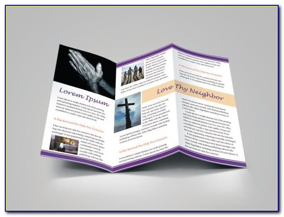 Free Church Bulletin Templates Microsoft Word