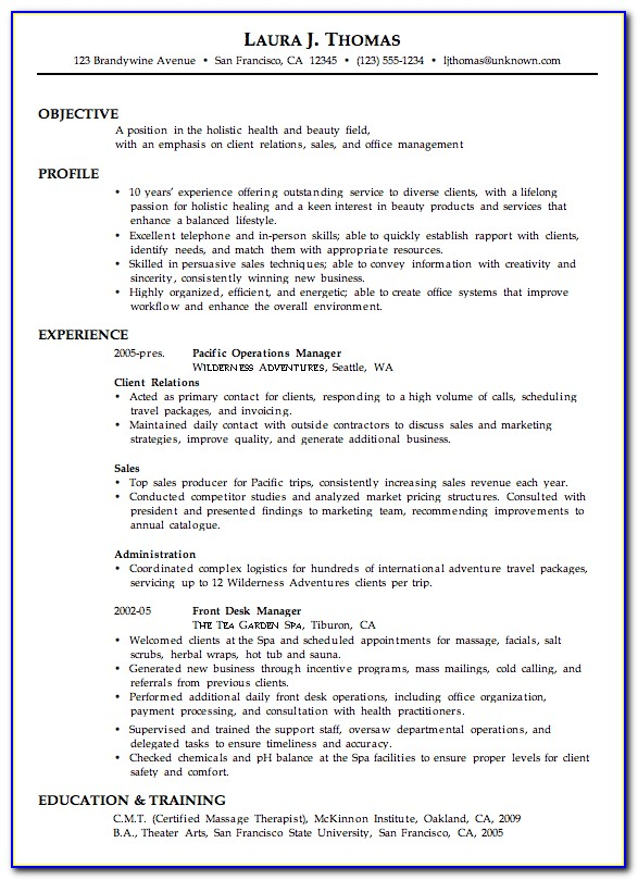 Free Combination Resume Builder