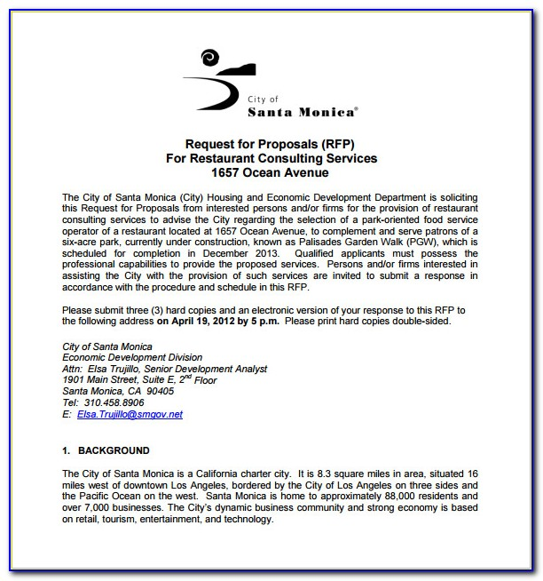 Free Consulting Proposal Template Doc