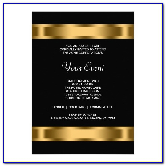 Free Corporate Holiday Party Invitation Template