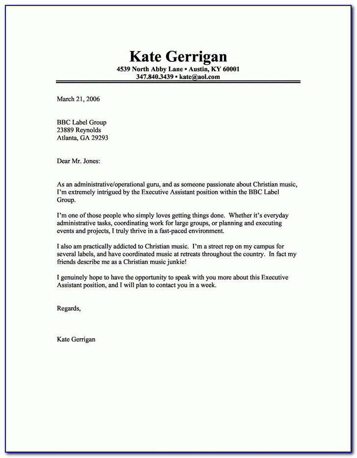 Creative Cover Letter Samples Template | Resume Builder Within Creative Cover Letter Samples Template