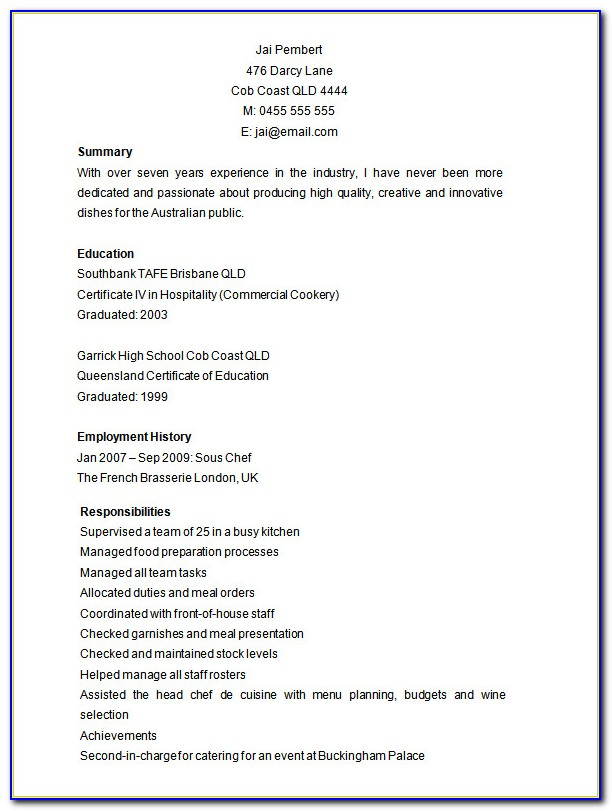 Free Creative Resume Templates Microsoft Word 2007