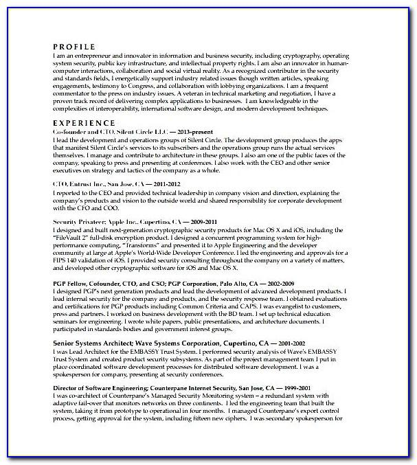 Free Cv Template For Mac Pages