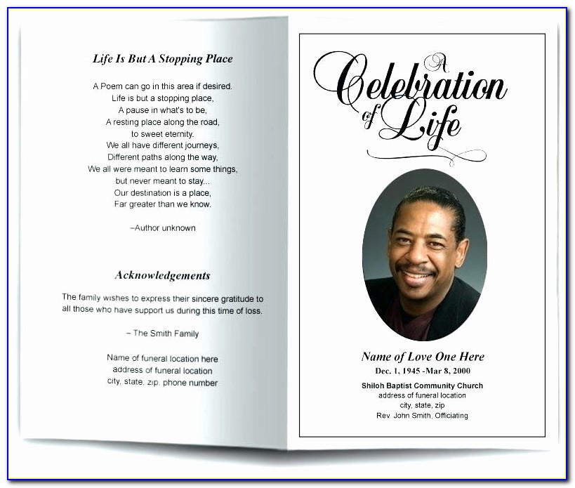 Free Funeral Program Template Microsoft Publisher Inspirational Blank Funeral Program Template Awesome Inspirational Free Funeral